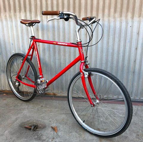 Schwinn MOS Sierra MTB City Bike Conversion