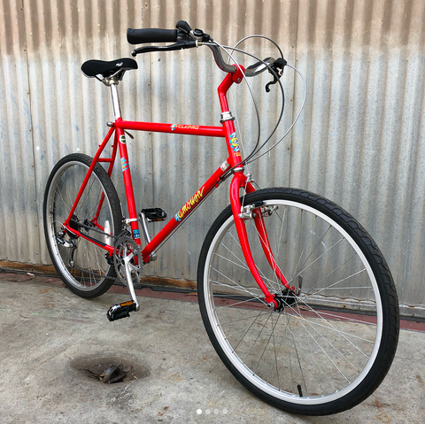 Cyclepro Vintage MTB Rebuilt as Burrito Slaying City Bike