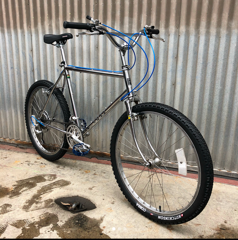 Ross MTB Converted to a Geared BMX Style Cruiser