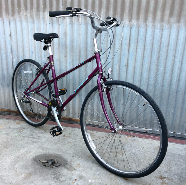 Mongoose Mixte City Bike - Purple!