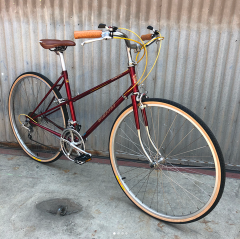 Nishiki - Higher End, High Spec - Shimano 600 Equipped Mixte - Classic Vintage Women's Bike