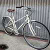 Women's Linus Mixte City Bike - Linus Mixte Cream - Studio Rental