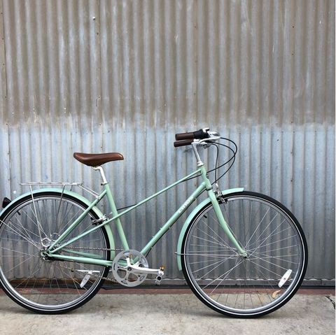 Used Linus Mixte 8-Speed Medium - Sage Green