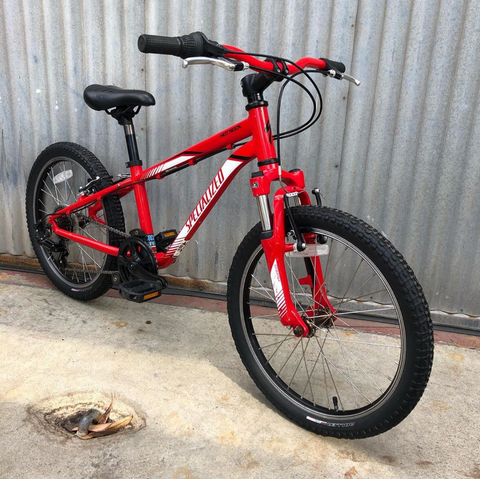 "Specialized 20"" Kid's Hotrock - Used Mountain Bike for Child"