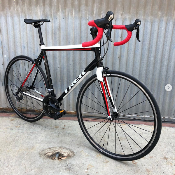 Trek 1.2 Road Bike with UPGRADED 105 Group including Cranks, Derailleurs and Shifters