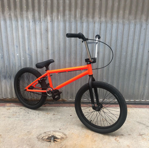 WTP We the People BMX Bike