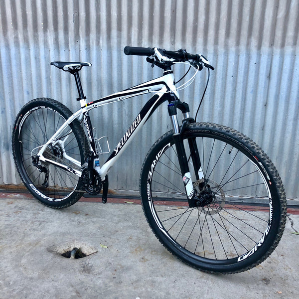 Mountain Bike - Modern Black and White Specialized - Studio Rental