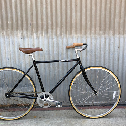 Gentlemen's Linus City Bike - Black Roadster - Studio Rental