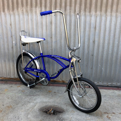 Kid's Stingray - Blue/Purple Kid's Bike from 1970s - Studio Rental