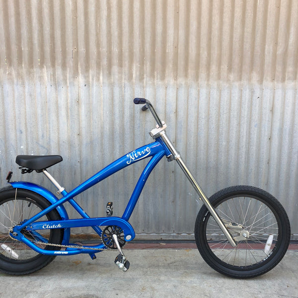 Kid's Lowrider Bicycle - Blue Chopper Bicycle