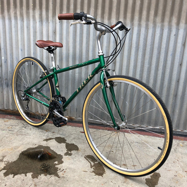Great Green Trek - Made in USA - City Bike - Fully Refurbed Vintage Bicycle