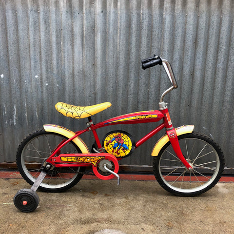 Vintage 1978 Spider-Man Bicycle - As-Is Project