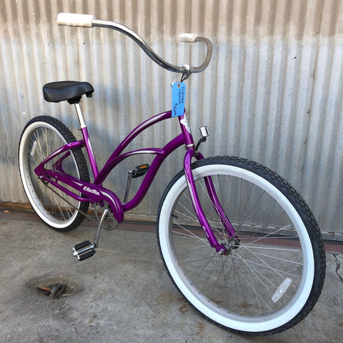 "Electra Cruiser - 26"" Adult - Very Easy to Ride - Purple"