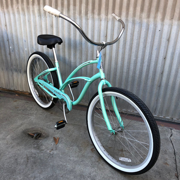 "Electra Cruiser - 26"" Adult - Very Easy to Ride - Sea Foam Green"