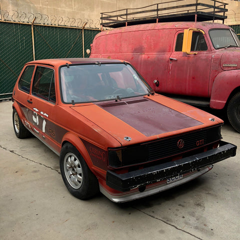 VW Rabbit Race Car -1983 - Studio Rental - Picture Car
