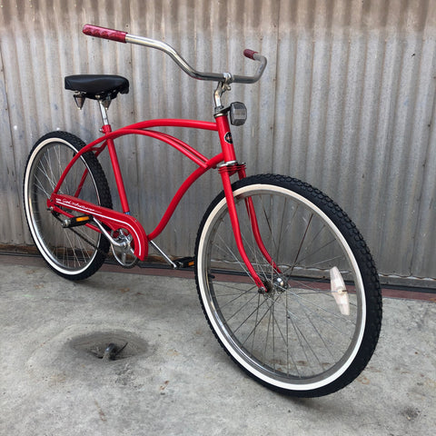 Men's Cruiser - Classic Red Beach Cruiser