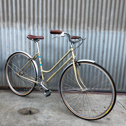 Nishiki Vintage Gold Step-through City Bike