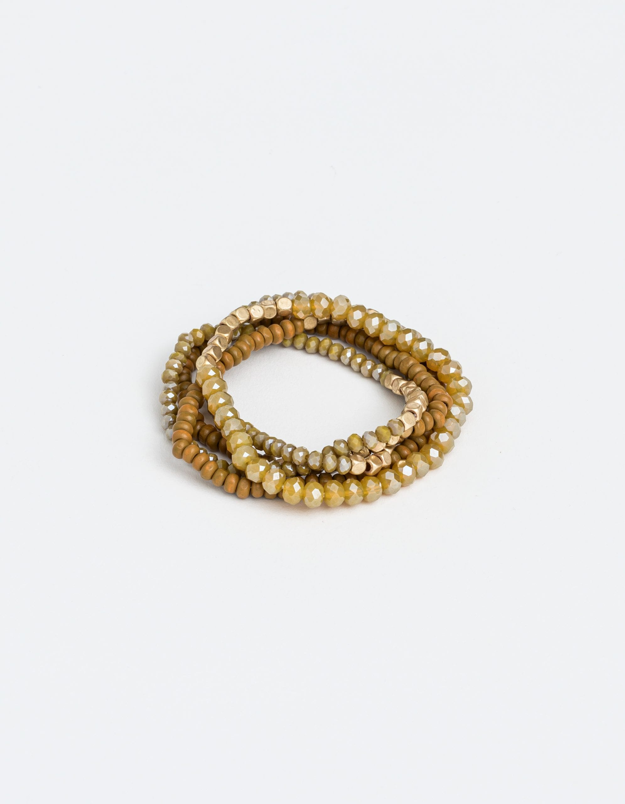 Bracelet Set of 4 Sand by Stella and Gemma