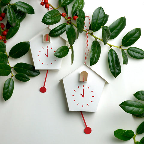 DIY Cuckoo Clock Ornament SVG for Cutting Machines