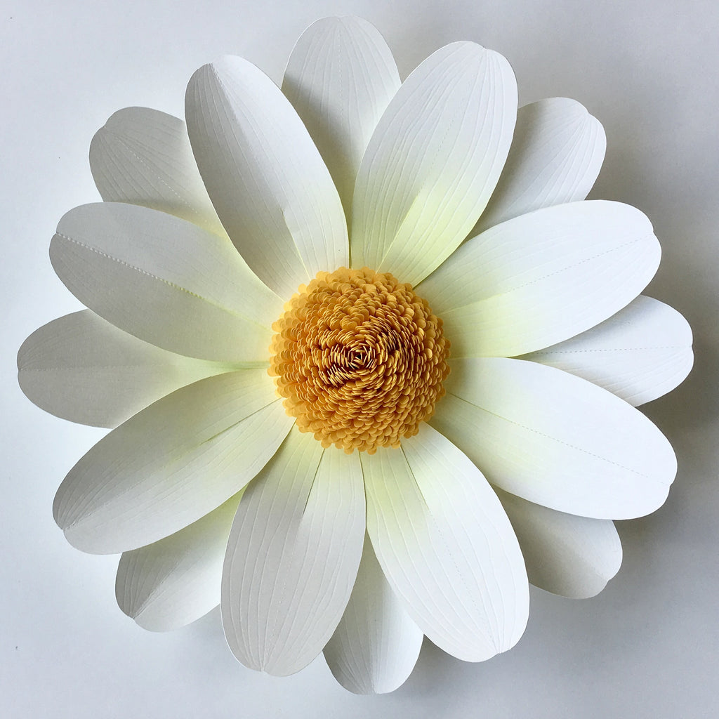 Daisy Paper Flower Selowithjo