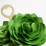 Paper Succulent DIY Cutting File & Template