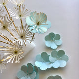 Paper Flower Template, Six-Petal Flower Pick (SVG & DXF)