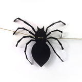 Spider Garland DIY Template for Hand Cutting, Silhouette, or Cricut Explore