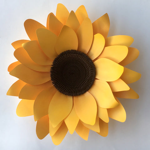 Sunflower SVG Template