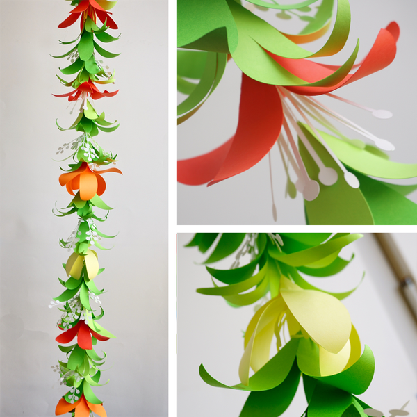 Tropical Flower Garland Amp Lei Templates Svg Dxf