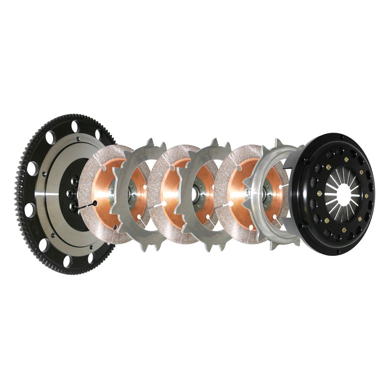 COMPETITION CLUTCH TRIPLE DISC HONDA CIVIC EP3 INTEGRA DC5 K-SERIES 6SPD K20A K20A2 TYPE R