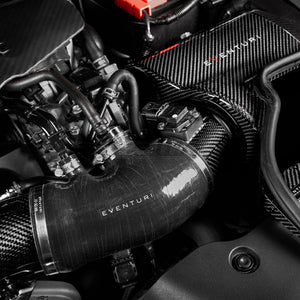 Eventuri Black Carbon Charge Pipe Honda Civic Type R FK8 17+ PRE-ORDER