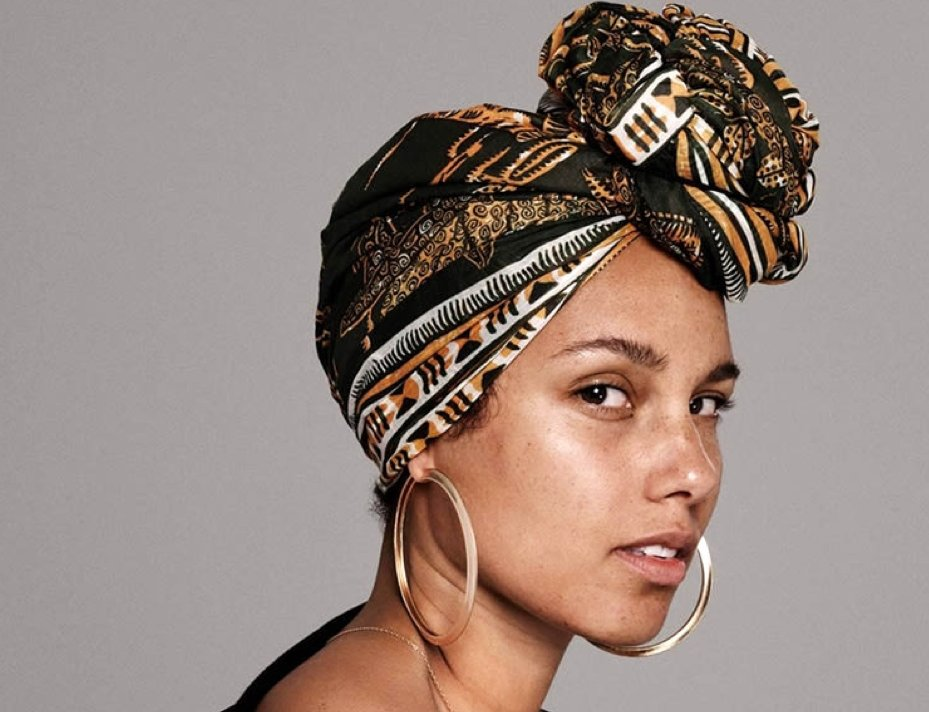 The secret to Alicia Keys' Makeup Free Picture-perfect Skin | Millionaire Beauty