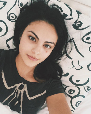 Camila Mendes, skincare, skincare routine, millionaire beauty