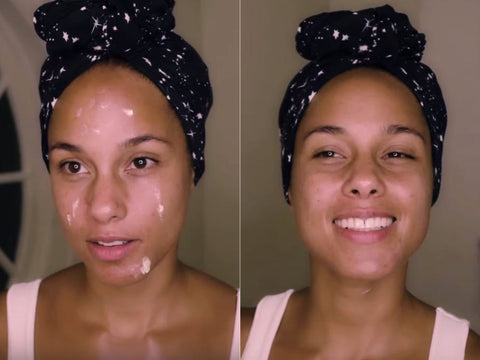 Alicia Keys, Skincare Routine, Skincare plan, Skincare, great skin, organic skincare, natural skincare, healthy glowing skin, great skin, beautiful skin, millionaire beauty, skincare goals