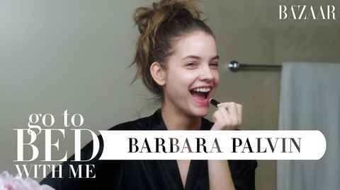 Barbara Palvin, Skincare Routine, Skincare plan, Skincare, great skin, organic skincare, natural skincare, healthy glowing skin, great skin, beautiful skin, millionaire beauty, skincare goals