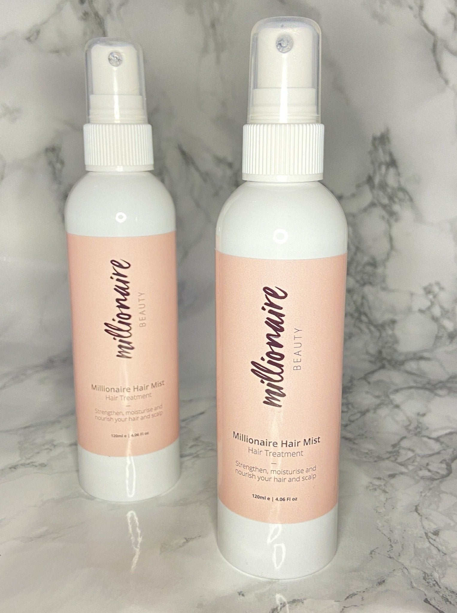 Millionaire Hair Mist - nourishes and strengthens your hair and scalp, Skincare, Millionaire Beauty, Skincare routine, paulas choice, cult beauty, skincare bundle, face serums, night time skincare routine, Morning skincare routine, hairmist. hair mist, hair treatment