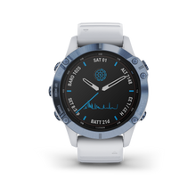 Load image into Gallery viewer, Garmin Fenix6 Pro Solar Cobalt Blue Whitestone