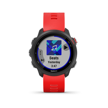 Load image into Gallery viewer, Garmin Forerunner245 Music Lava Red