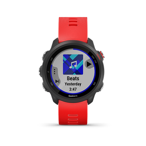 Garmin Forerunner245 Music Lava Red