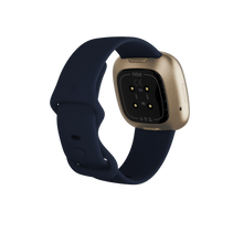 Load image into Gallery viewer, Fitbit Versa 3 Midnight Soft Gold