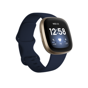 Fitbit Versa 3 Midnight Soft Gold