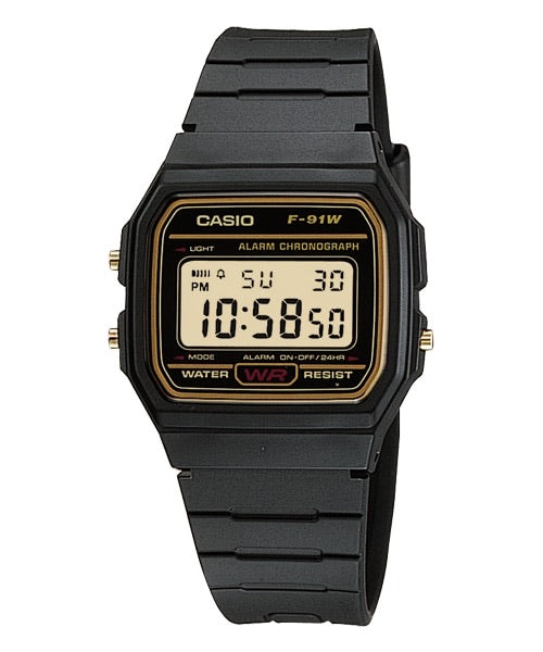Casio General F91WG-9QDF