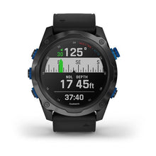 Load image into Gallery viewer, Garmin Descent MK2i Titanium Carbon Gray DLC with Black Band
