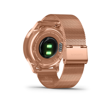 Load image into Gallery viewer, Garmin Vivomove Luxe Milanese 18K Rose Gold