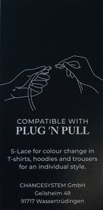 PLUG 'N PULL S-LACE WEINROT GLITZER