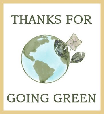Lets go GREEN and ECO Friendly Together