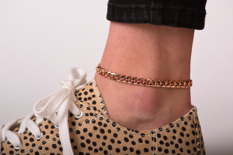 Copper Anklets