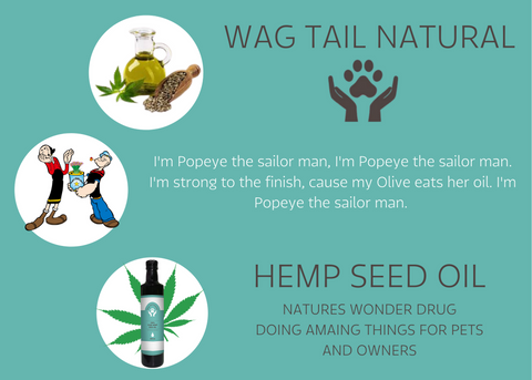 100% Raw Pet & Human Hemp Seed Oil
