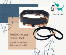 Load image into Gallery viewer, Leather & Copper Combo
