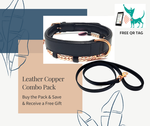 <br>Leather & Copper Combo